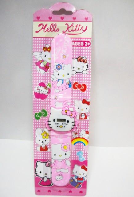 Jam Tangan Anak Karakter Hello Kitty .